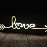 LAT50 LED kiri love